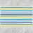 "Multi-Colored Striped 100% Cotton Rep Weave Placemat (19.25"" x 13"")"