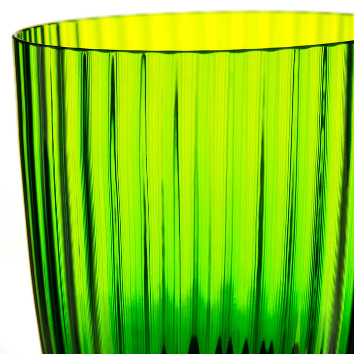 NasonMoretti Green Idra Stripe Glass