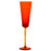 NasonMoretti Orange Gigolo Champagne Glass