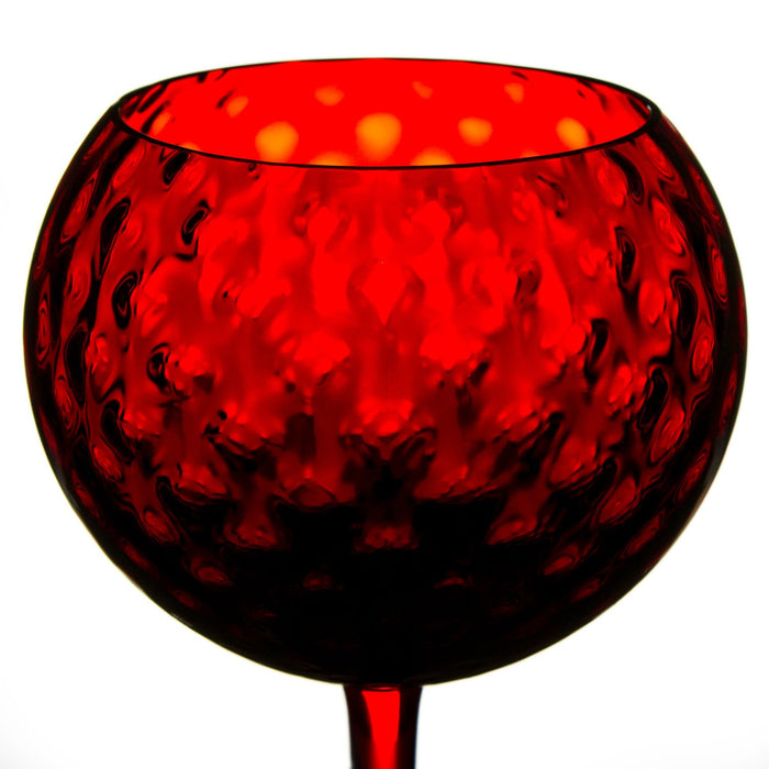 NasonMoretti Red Gigolo Wine Glass