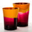 NasonMoretti Yellow & Purple Dandy Water Tumbler