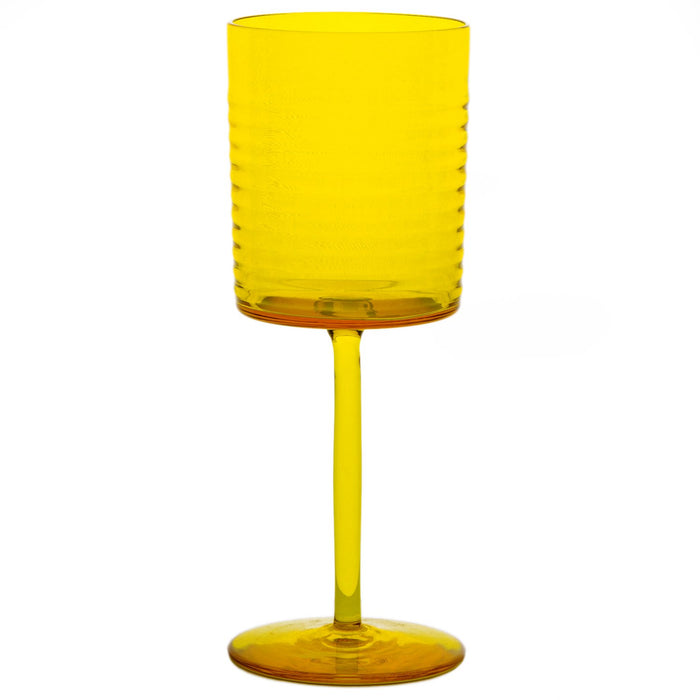 NasonMoretti Yellow Gigolo Water Glass