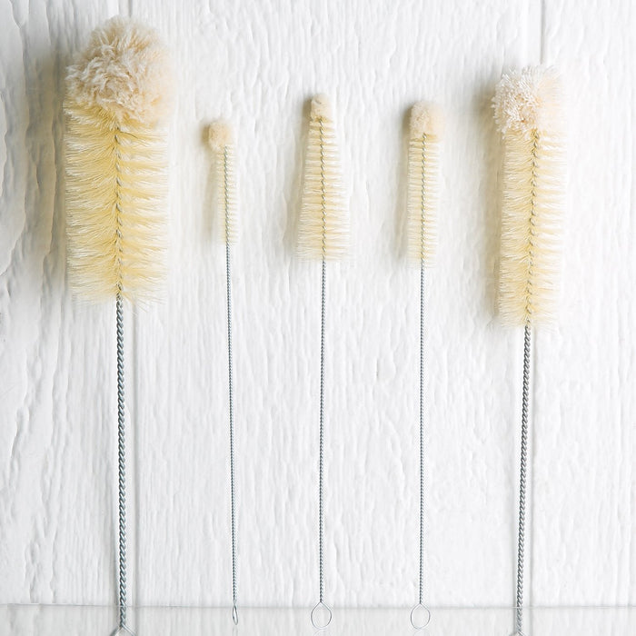 Natural 5 Piece Brush Set