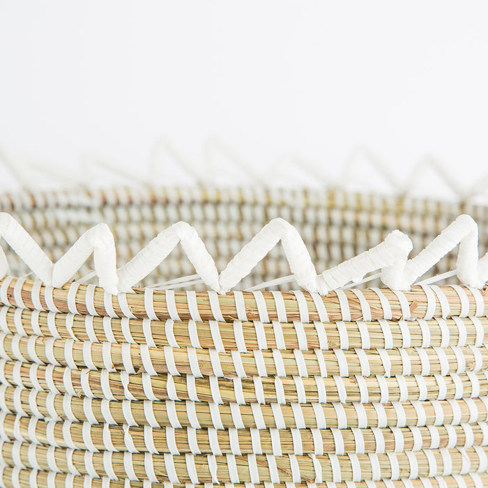 Natural African Basket (Medium)