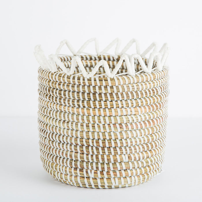 Natural African Basket (Small)