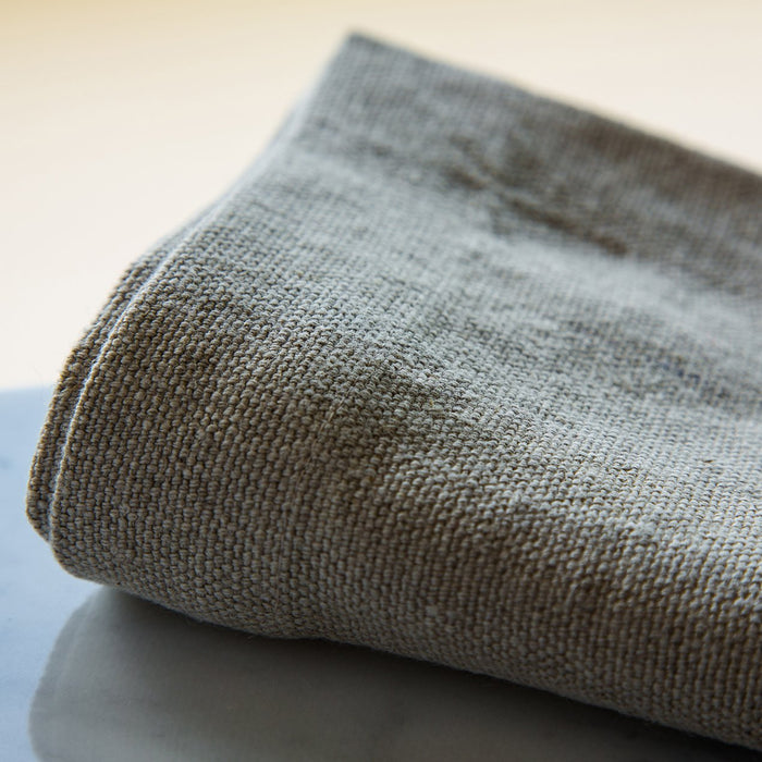 "Natural Beige Crisp & Heavy Weight Pure 100% Linen Audimas Napkin (20"")"