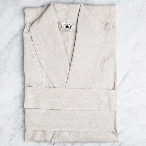 Chic Cream Linen BathRobes