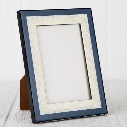 "Nereide Blue Picture Frame (5x7"")"