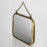 Nickel Brass Wall Mirror - Large