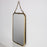 Nickel Brass Wall Mirror