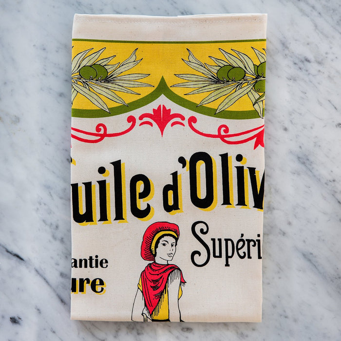 Olive Oil 100% Durable Cotton Tea Towel