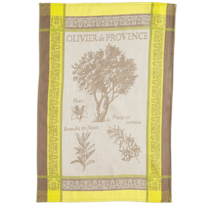 Olivier French Kitchen Towel (Green)