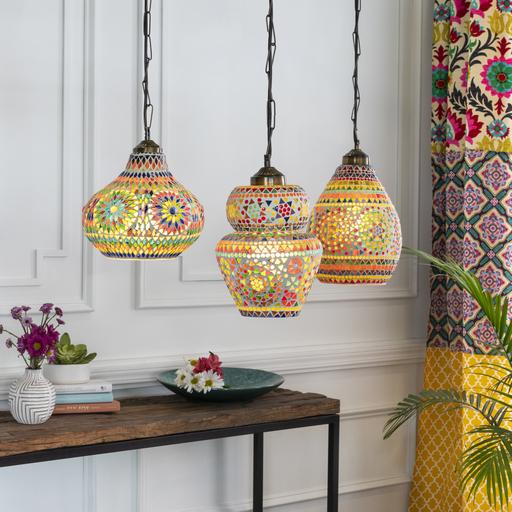Olpe Mosaic Pendant Light