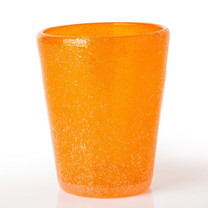 Orange Handmade Memento Tumbler (Translucent)