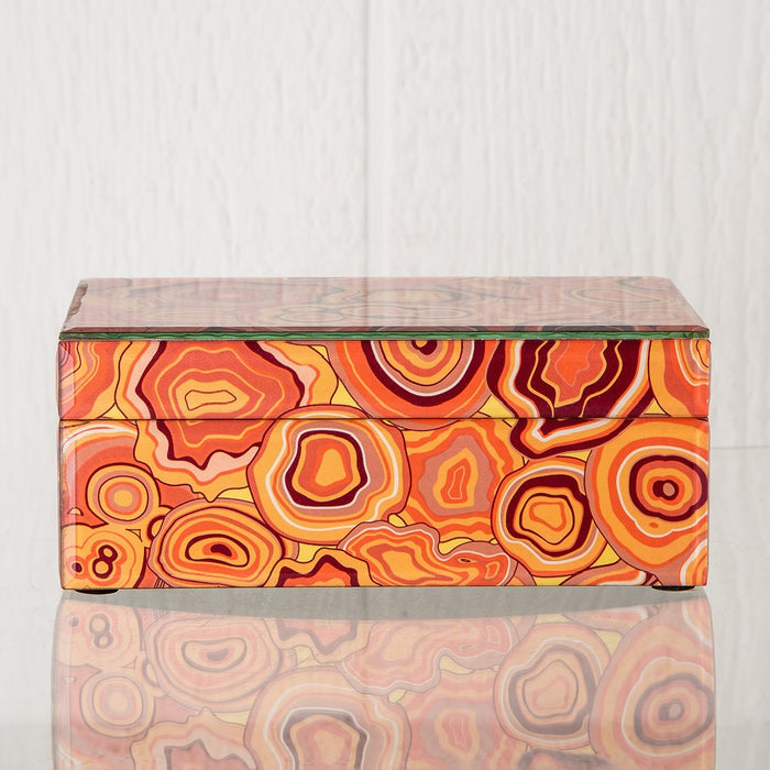 Orange Malachite Box (Large)