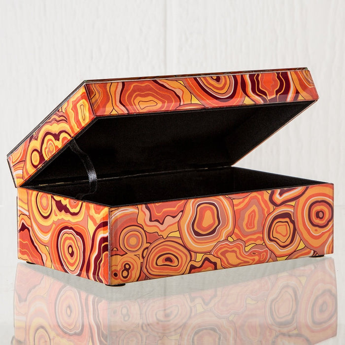 Orange Malachite Box (Small)