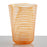 Orange Nason Moretti Twist Tumbler