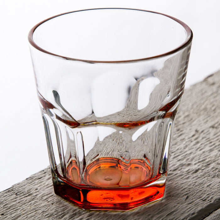 Orange Optical Drinking Cup