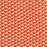 Orange Two-Toned Rope Indoor / Outdoor Rug