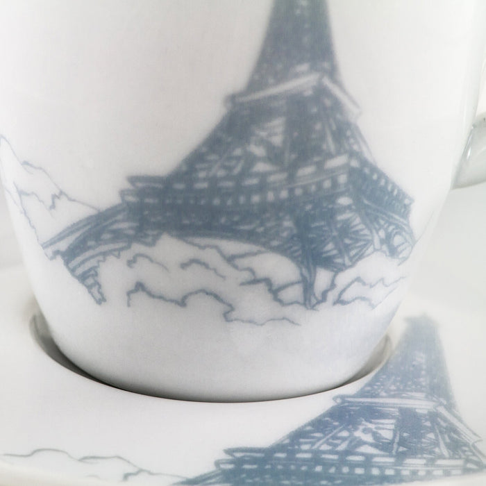 Paris Cup and Saucer
