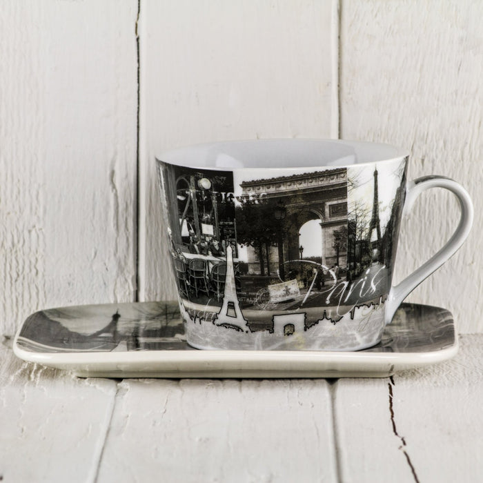 Paris Cup and Tray, Large