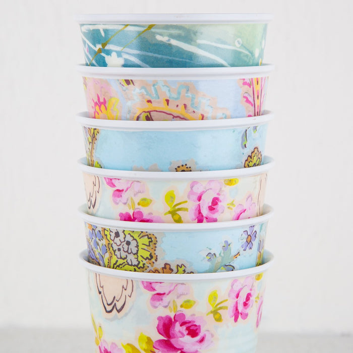 Paris Flea Market Melamine Party Cups