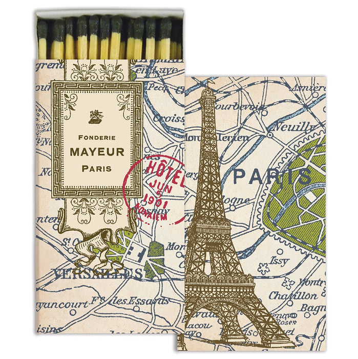 Paris Map Matchbox