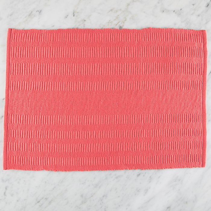 "Patterned 100% Cotton Rep Weave Placemat (18.5"" x 13"")"