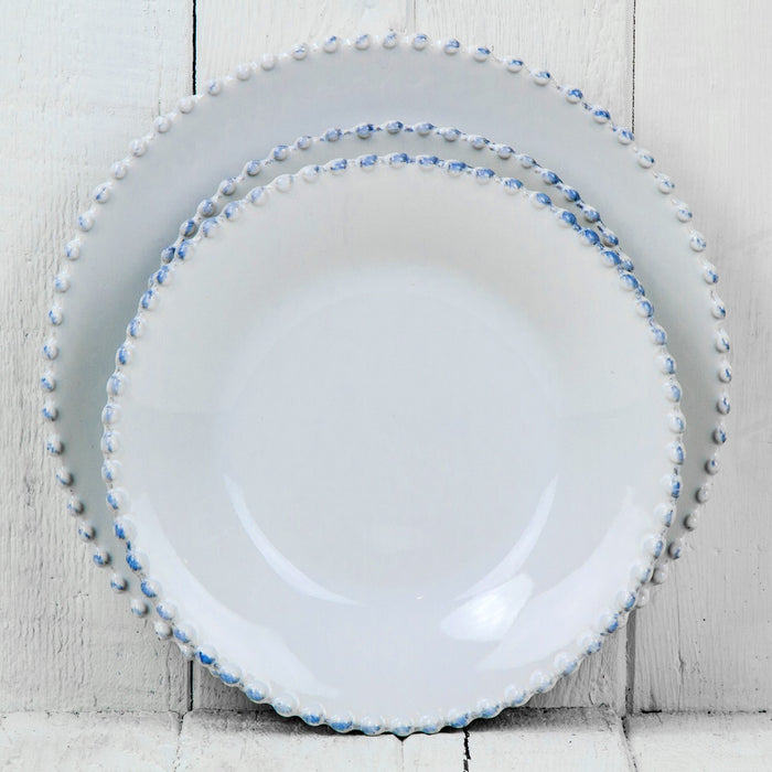 Pearl Stoneware Dinner Plate
