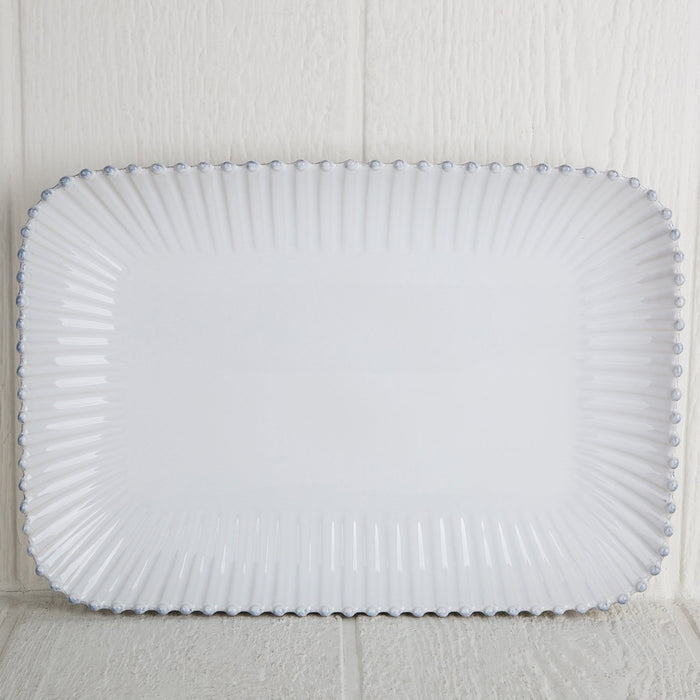 Pearl Stoneware Serving Platter
