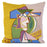 "Picasso Femme Au Chapeau Decorative Pillow (20"" x 20"")"