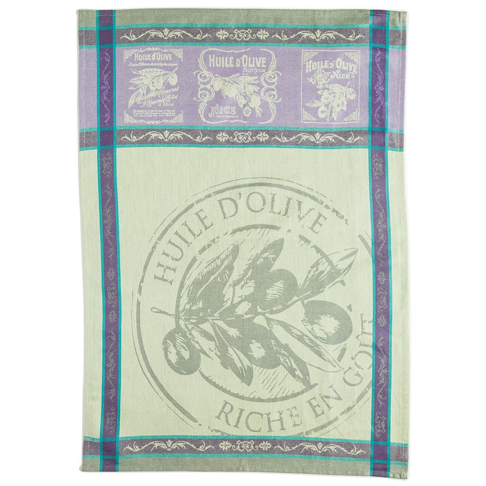 Picholine French Kitchen Towel (Green)