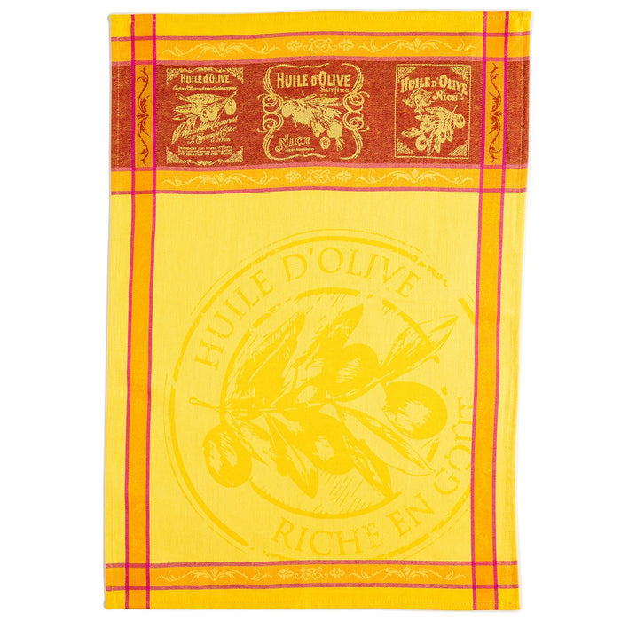 Picholine French Kitchen Towel (Yellow)