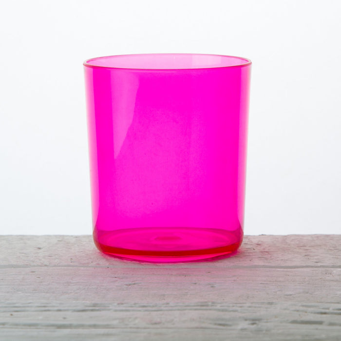 Pink Acrylic Festival Water Glass