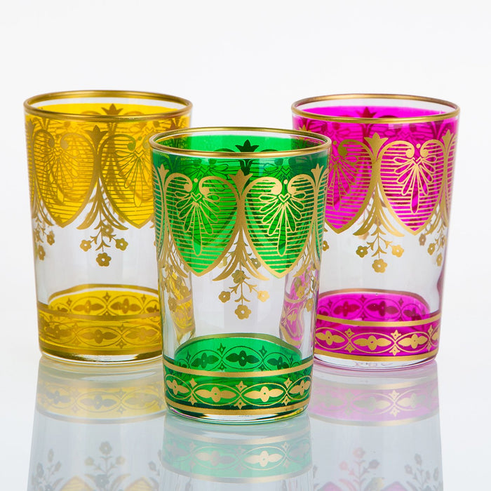 Pink Assif Moroccan Tea Glass