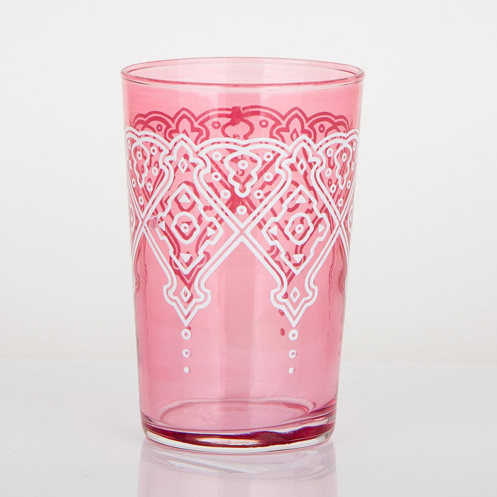 Pink Punto Moroccan Tea Glass