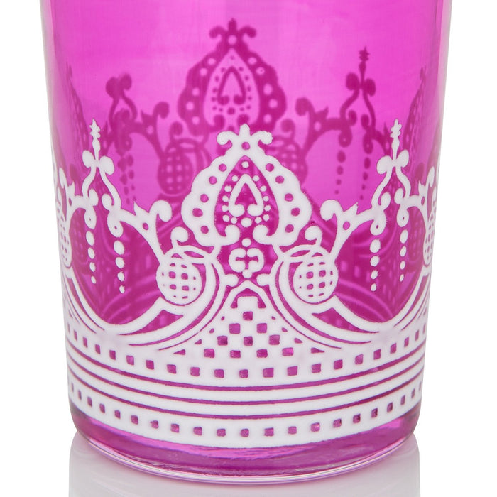 Pink Touareg Moroccan Tea Glass
