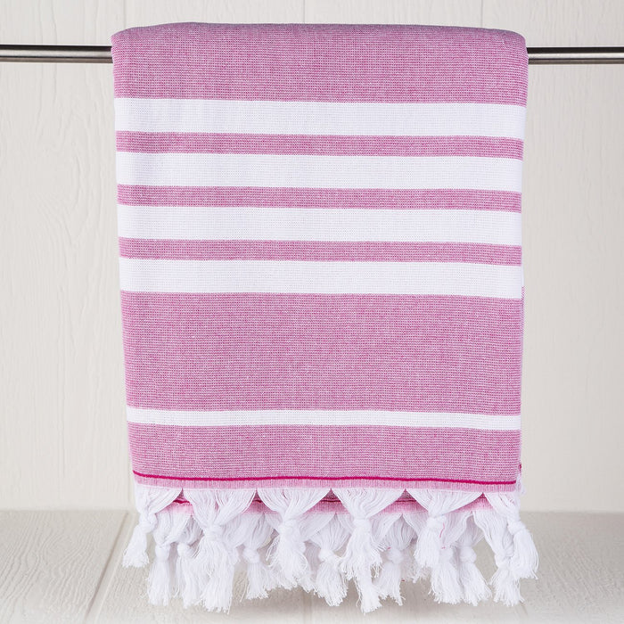 Pink Turkish Ohana Towel