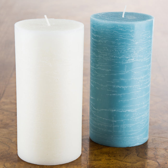 Pomax (50hr) Ivory Pillar Candle
