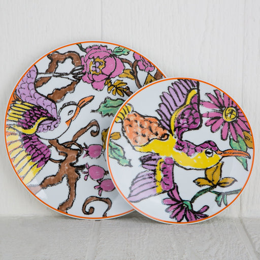 Porcelain Bird Dinnerware