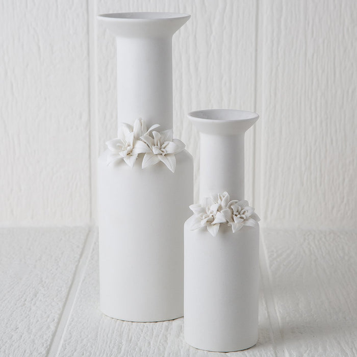 Porcelain Flower Vase (Small)