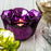 Purple Flower Shaped Votive