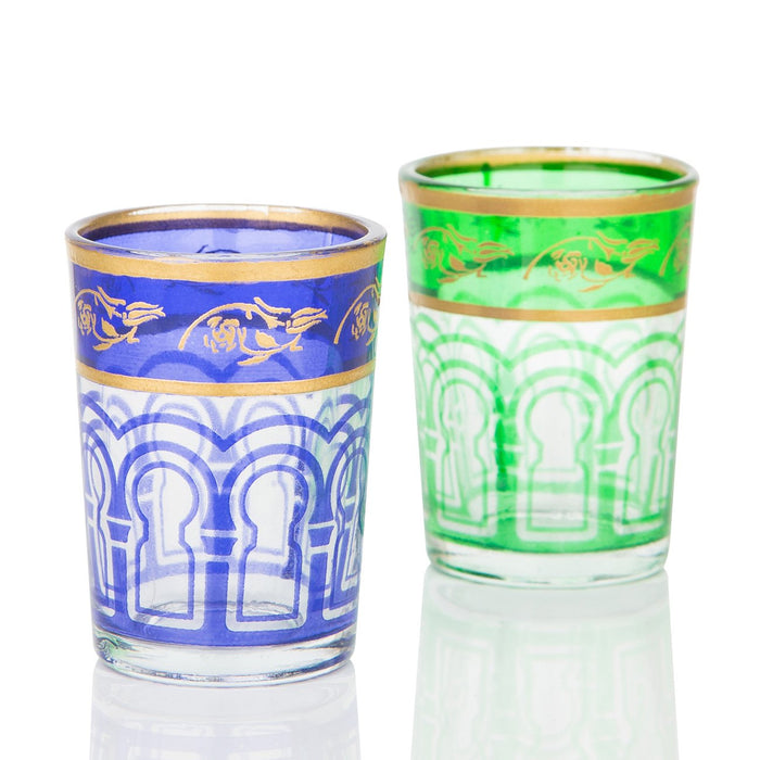 Purple Moroccan Shot Glass