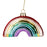 Rainbow Glass Ornament
