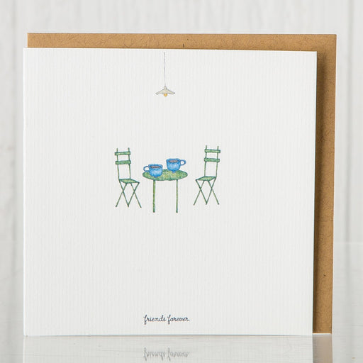 Recycled Friends Forever Greeting Card