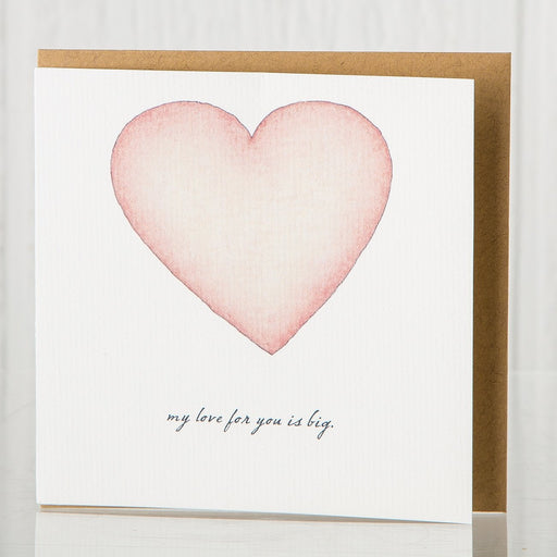 Recycled Heart Greeting Card