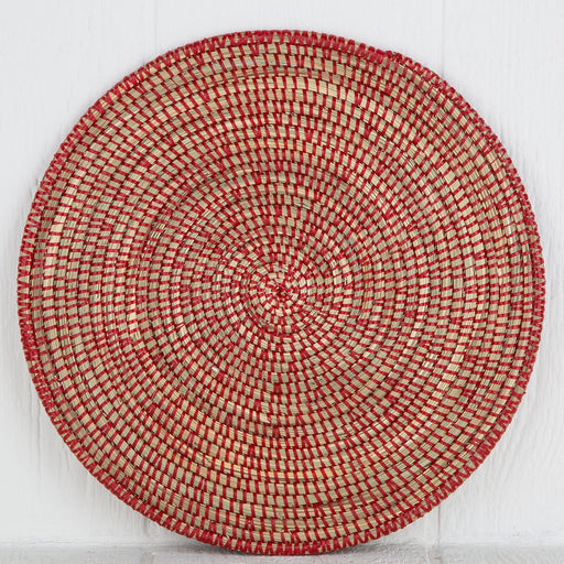 Red African Woven Placemat