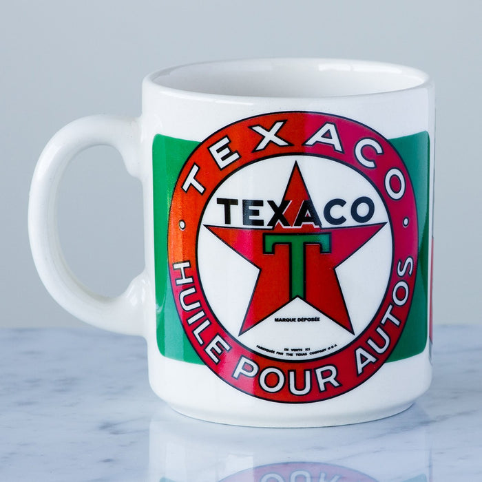 Red & Green Texaco Coffee Mug