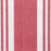 Red and White Striped Napkin