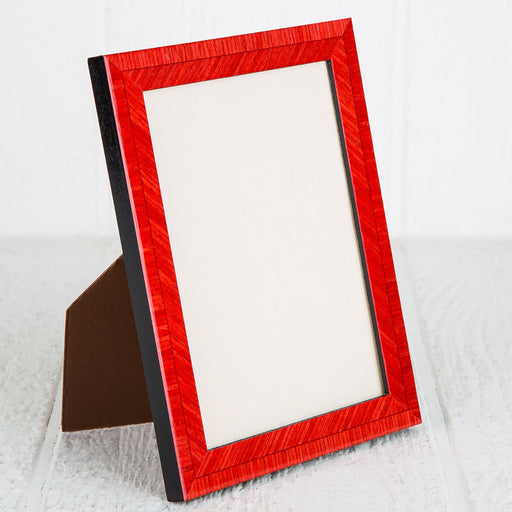 Red Biante Picture Frames